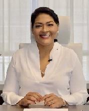 Minister of Finance, Economic Affairs and Culture, Mrs. mr. Xiomara J. Ruiz-Maduro