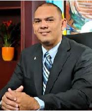 Minister of Regional Planning, Infrastructure and Environment. mr. Otmar Oduber