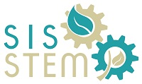 Logo proyecto di educacion y di investigacion nobo: Sustainable Island Solutions through Science, Technology, Engineering and Mathematics (SISSTEM).
