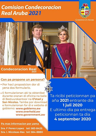 Poster Royal awards 2021