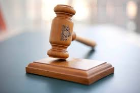 Gavel of a judge